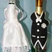 Комплект костюмов на бутылки